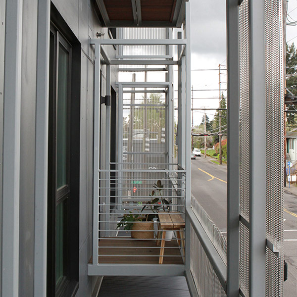 Lennox Addition balcony